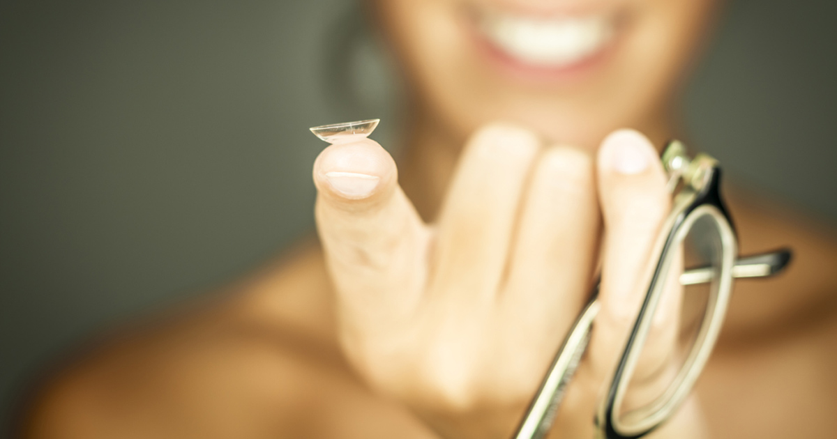 Keeping your eyes healthy while wearing contact lenses